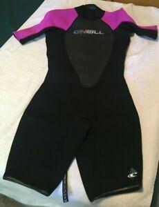 ONeill   Womens Reactor 2mm Short Sleeve Back Zip Spring Wetsuit