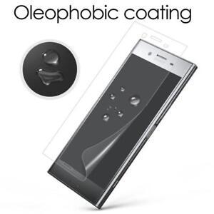 Pour-Sony-Xperia-XA1-G3121-neuf-origine-Pack-de-5-clear-screen-guard-protector