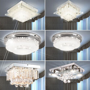 Chrome Lustre En Détails Lustres Cristal Plafond Led Salon Verre Effet Lampes Sur n80wXNPkO