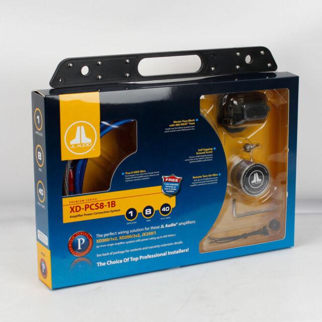 Jl Audio Amp Wiring Kit