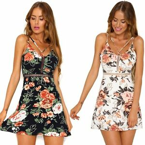 f7dfa9f2b3cc Image is loading Women-Summer-Bodycon-Sleeveless-Evening-Party-Cocktail- Casual-