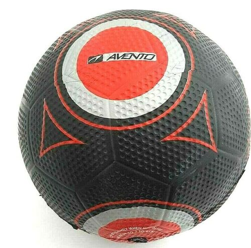 Avento Football streetskills routes Football, Black/Red/Grey, taille 5 * NOUVEAU *