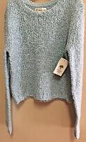 Tucker + Tate Girls Sweater Blue Sterling Size M(8/10) Acrylic/wool Blend