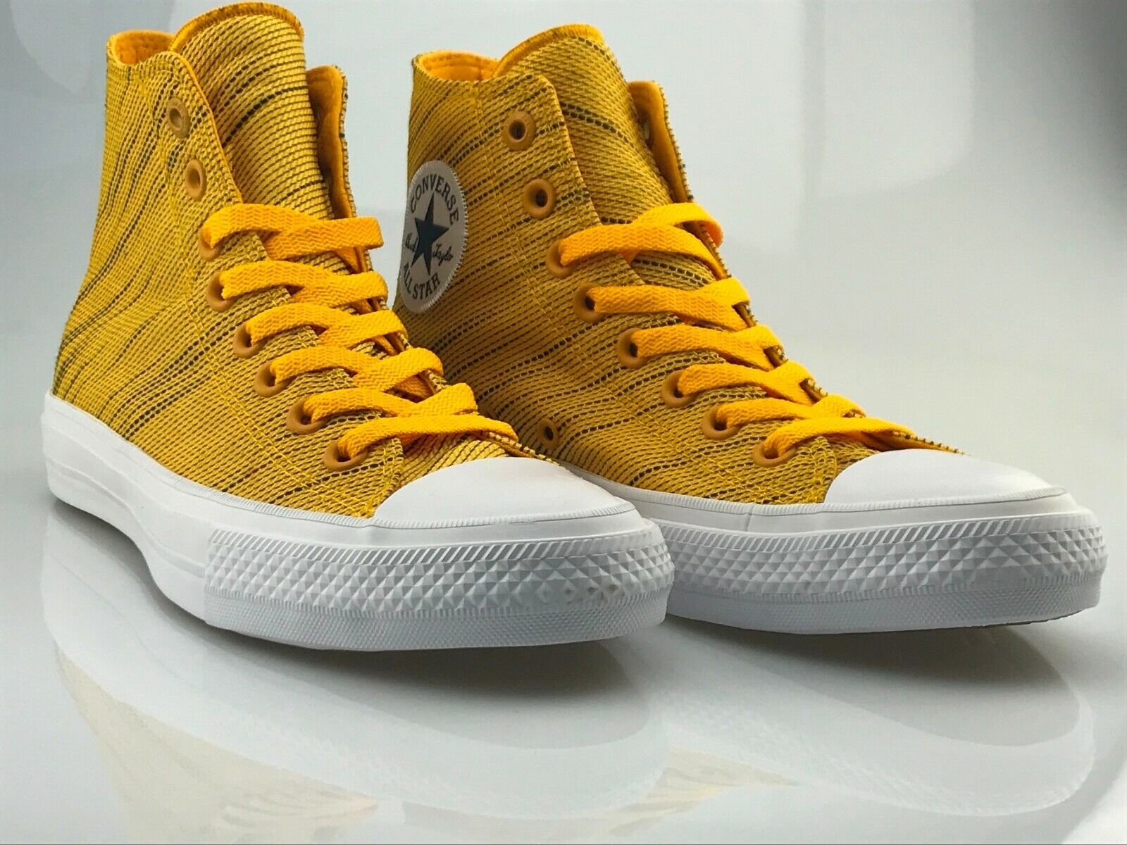 Converse Chuck Taylor All Star II knit high jaune 151088 C paniers Unisexe