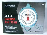 550 Pound Lb High Capacity Game Scale Hunting Fishing Commercial Weighing B-3
