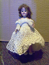 """Vintage 1950's  LINGERIE LOU doll w/ working sleep eyes jointed arms  7"""""""