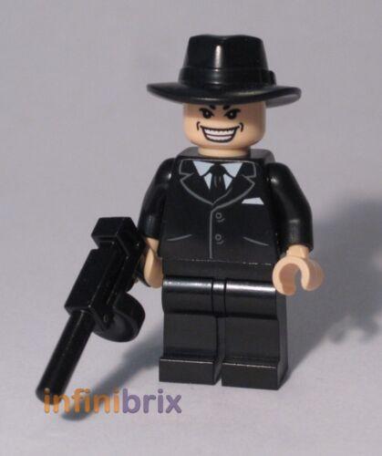 for Indiana Jones Minifigure NEW cus130 Lego CUSTOM Shanghai Gangster Grin