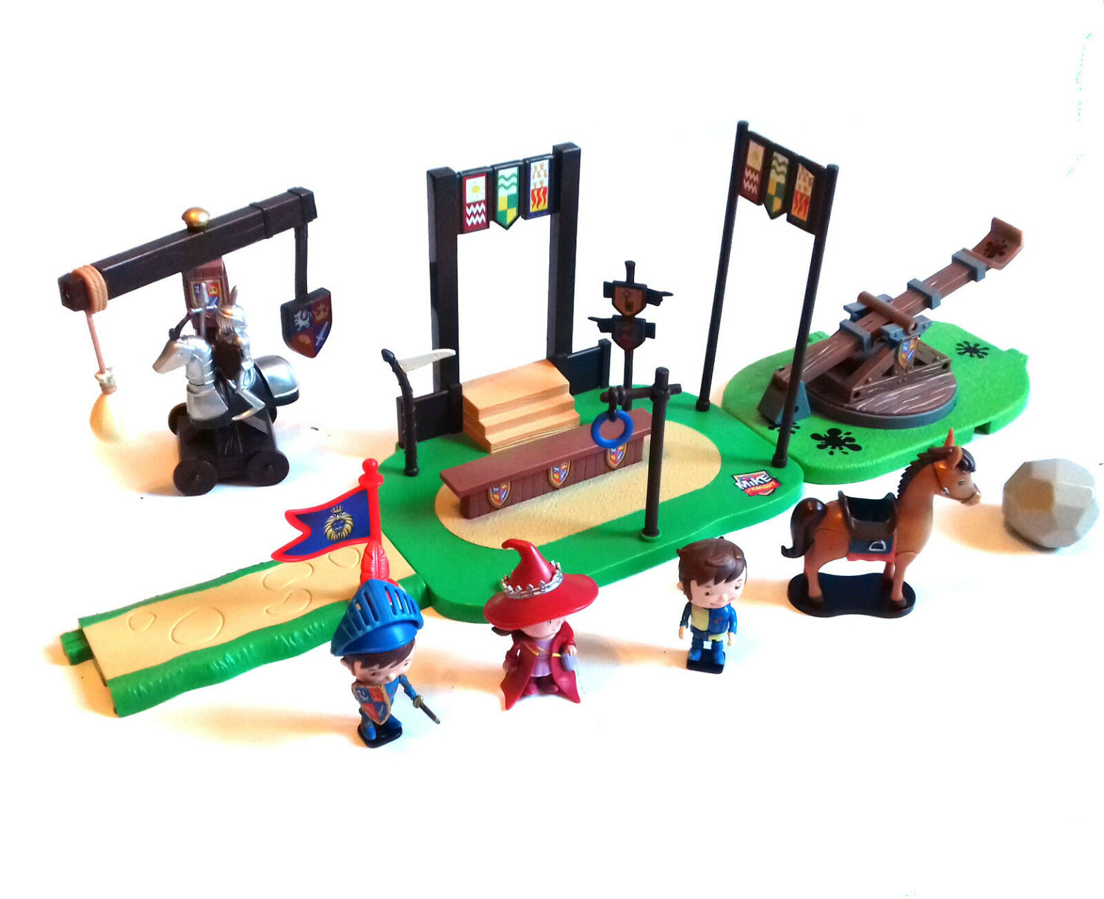 Mike the Knight Medieval Kids toy playset with figures & Accessories set lot