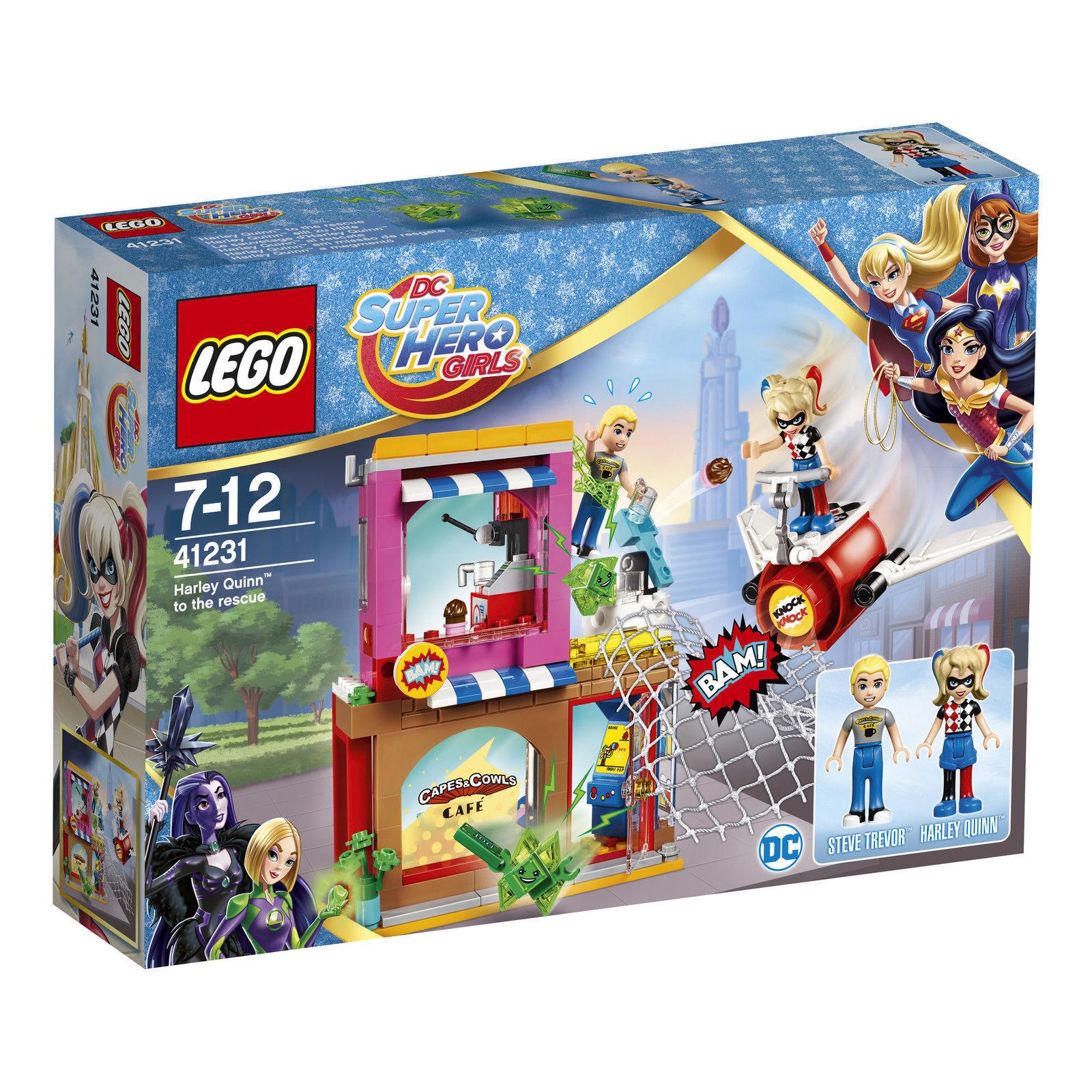 LEGO® DC Super Hero Girls™ 41231 Harley Quinn™ eilt zu Hilfe NEU OVP NEW MISB
