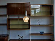 1 piece TRUE VINTAGE 1x HÄNGELAMPE LAMPE 70er Deckenlampe Globe Glas Leuchte Alu