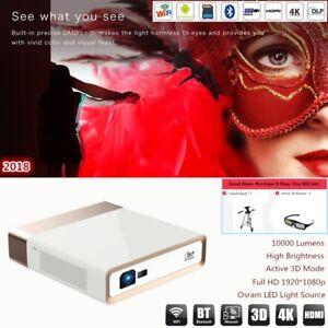 Portable-DLP-KONKA-Smart-Ultra-HD-4K-3D-Wifi-BT-Home-Theater-Projector-10000LM