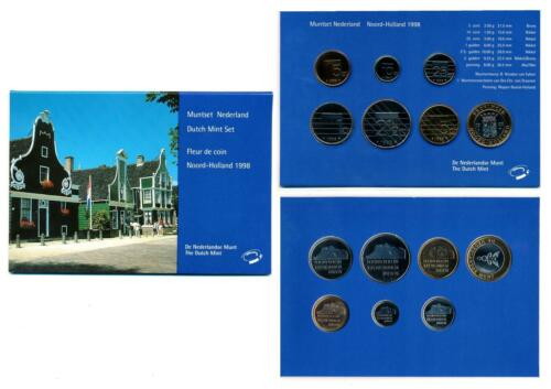 Netherlands 1998 Queen Beatrix official mint coin year set Noord-Holland FDC