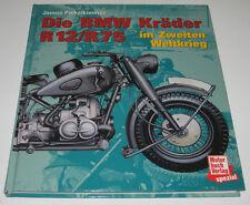 Bildband BMW Kräder Motorrad R 12 / R12 / R 75 / R75 im zweiten Weltkrieg!