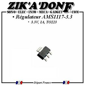 Regulateur-AMS1117-3-3-3-3V-1A-TO223-Expedie-depuis-la-France
