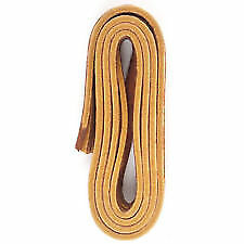 "New 72/"" Length Rawhide Leather Shoe Laces String Shoelaces Bootlaces Light Brown"