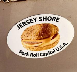 NEW-JERSEY-SHORE-Porkroll-Pork-Roll-AUTO-MAGNET