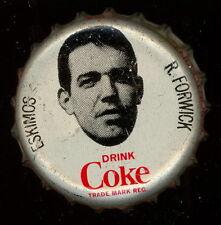 1965 COKE CAPS COCA-COLA CAP CORK CFL FOOTBALL RON FORWICK ESKIMOS HUSKIES EX-NM