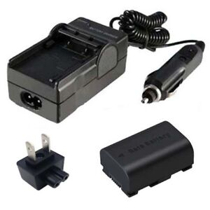 Battery\u0026Charger for JVC Everio GZ-HM30AU GZHM30BU GZ-HM40BU GZ