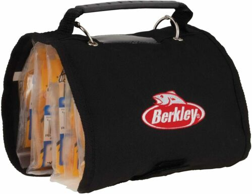 Details about  /Berkley Max Capacity Soft Bait Notebook Fishing Tackle Worm Storage Binder Case*