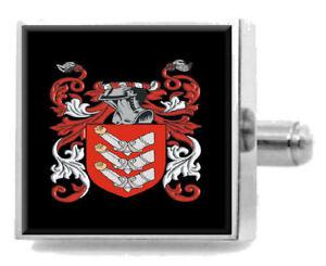 Armstrong Angleterre Famille Cimier Nom de Armoiries Pince à Cravate Gravé kEHwFncy-09085109-932185353