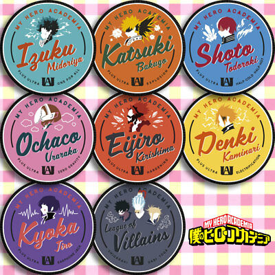 10pcs Sets My Boku No Hero Academia Badge Pin Button Bags Garniture Brooch #K16