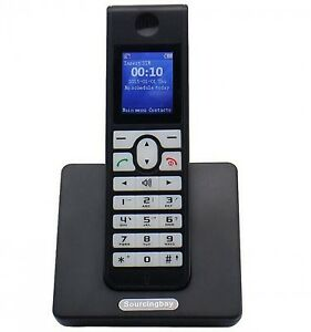 cordless telephone support sim card wireless phone sms lcd. Black Bedroom Furniture Sets. Home Design Ideas