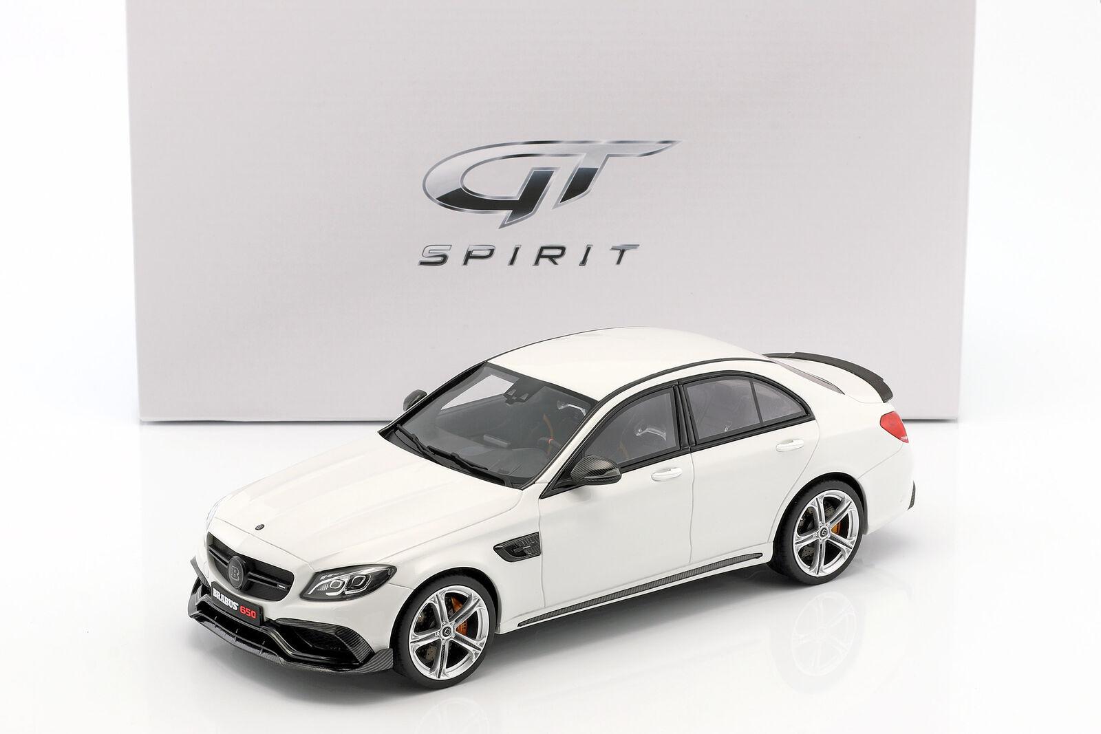 Brabus 650 Año Año Año Fabricación 2015 Blanco 1 18 Gt-Spirit  Envío y cambio gratis.