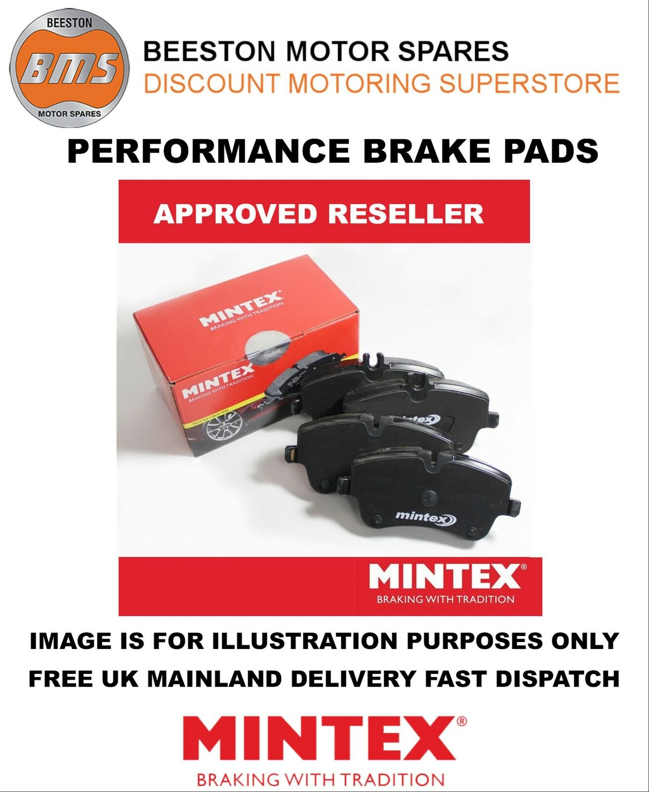 MINTEX MDB3257 Brake Pads Set