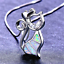 Fashion-925-Silver-Jewelry-Cat-White-Fire-Opal-Charm-Pendant-Necklace-Chain-Hot thumbnail 1