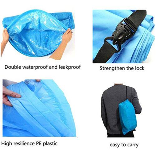 Inflatable Lounger Air Sofa Lightweight Outdoor Sleeping Bag Folding Sofa Bed