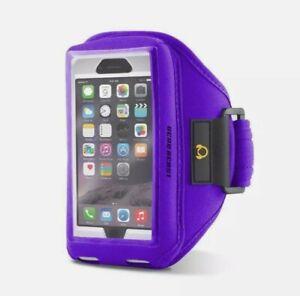 Gear Beast Sports Armband For iPhone X, 8, 7, 6S, 6, GALAXY S7 S6 Edge PURPLE