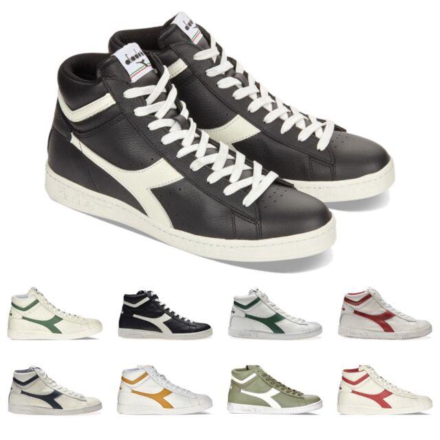 Diadora Sneaker Game L Low Waxed Blu Navy EU 38.5 (5.5 UK