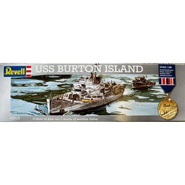 Revell 00015 USS Burton Island Revell Classics 1  285 skala plastmodellllerl kit