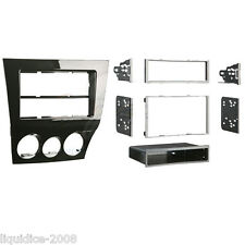 CT24MZ16 MAZDA RX-8 2009 to 2011 HIGH GLOSS SINGLE OR DOUBLE DIN FASCIA ADAPTER