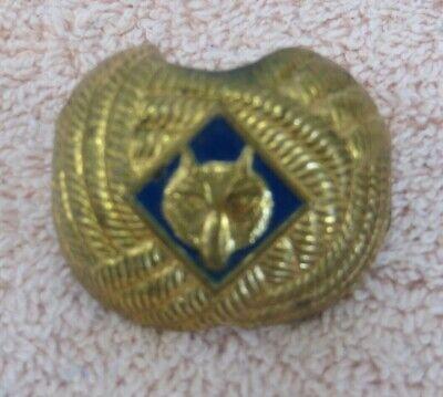 Vintage Personalized Neckerchief Slide Kit Camp Kiesel  Boy Scout Utah