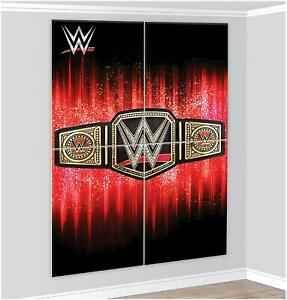 WWE-Smash-Scene-Setter-Happy-Birthday-Wall-Decoration-Banner-Boys-Party-Supplies