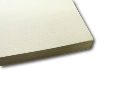 20 A4 draps Zeta Marteau Ivoire Texturé Rouleau Papier envoi gratuit