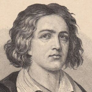 Portrait-XIXe-Andre-Chenier-Poete-Journaliste-Poesie-Revolution-Francaise