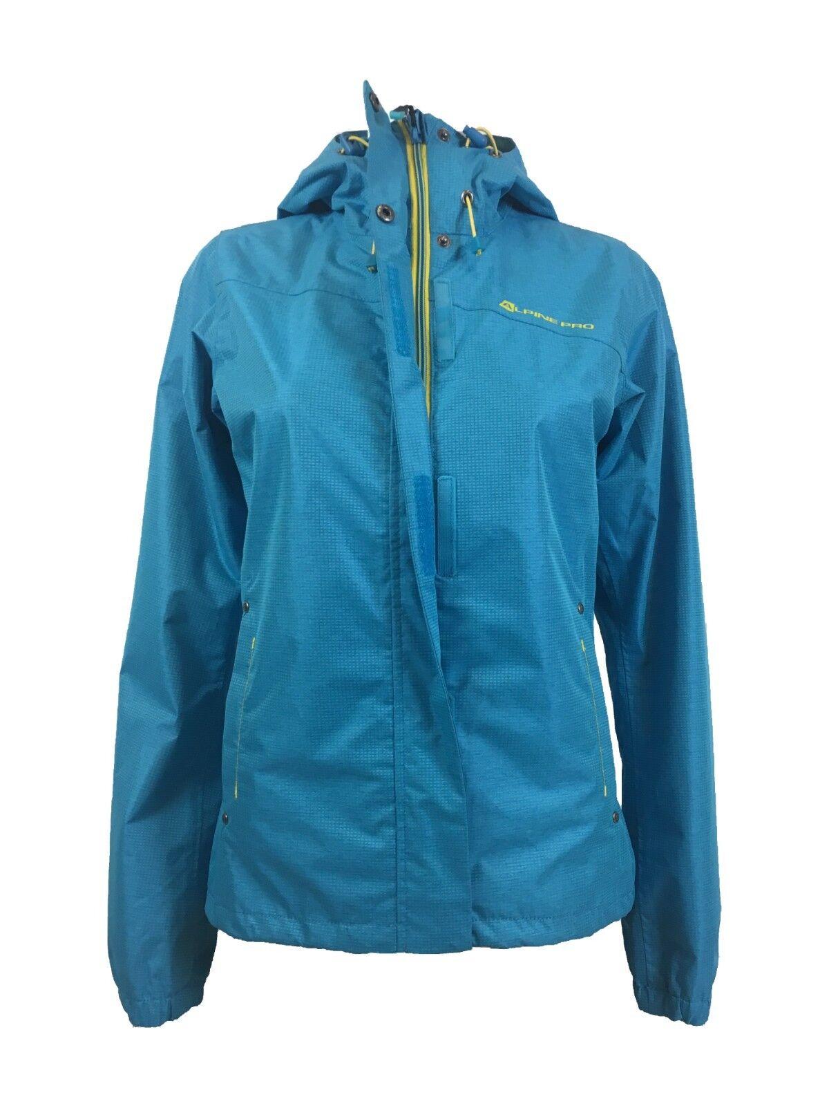 Alpine Pro Zeno Damen Outdoor Funktionsjacke wasserdicht Wanderjacke Jacke Blau