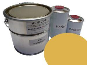 5-litros-Kit-2k-Pintura-RDA-AMARILLO-Monzon-TRABANT-ANILLO-DE-SAJONIA-Trabi