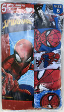 Marvel Little Boys Spiderman 5 Pack Brief 8 Assorted
