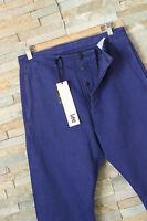 KrisVanAssche x LEE Jeans Chino Blau 101 ITALIEN HERGESTELLT W40 W38 W36 W34 W32