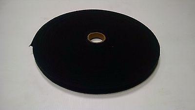 "5 Yard Roll Black 5//8/"" Inch Military Heavy Cotton Webbing Outdoor Fabric #68"