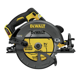 DEWALT FlexVolt 60V MAX Li-Ion 7-1/4 in. Circular Saw (Tool Only) DCS575B new