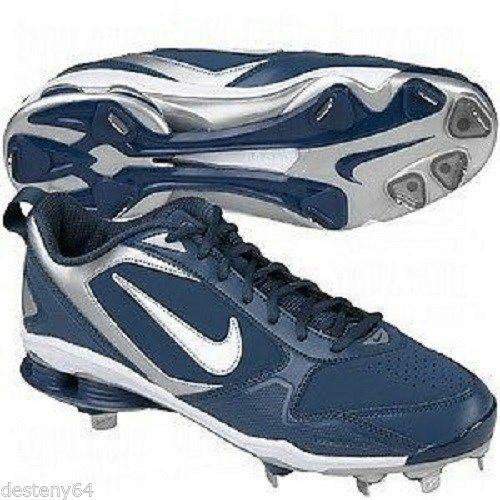 Nike 375764-411 Air Shox Fuse 2 Metal Men's Baseball Cleats Spikes Comfortable