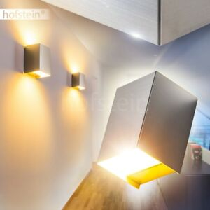 led wand leuchten wohn schlaf zimmer flur treppenhaus beleuchtung up down lampen ebay. Black Bedroom Furniture Sets. Home Design Ideas