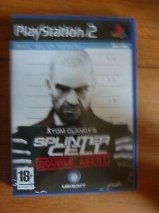 Tom Clancy's Splinter cell : Double agent ~~ Jeu PS2 sans notice