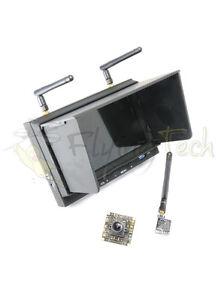 Complet Fpv Configurer - Caméra, Gb Légal Transmetteur, Moniteur/récepteur