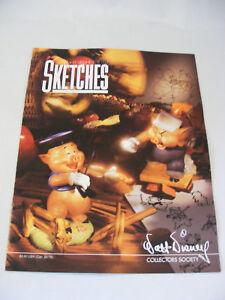 WDCC Disney Sketches Magazine 1994 Vol 2 No 4
