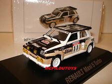 NEW NOREV RENAULT 5 MAXI TURBO N°11 TOUR DE CORSE 1986 au 1/43°